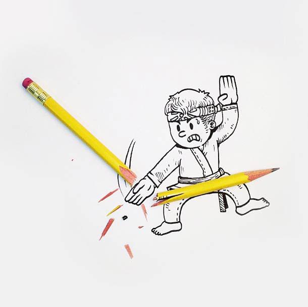 emerveillez-vous-devant-ces-illustrations-creatives-et-originales-qui-donnent-vie-aux-objets-du-quotidien39