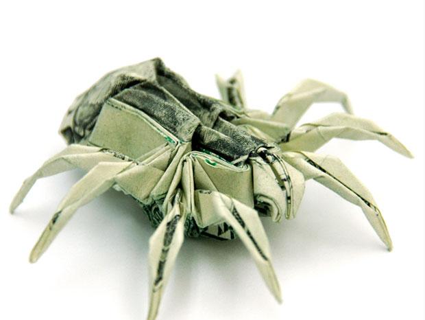 les-magnifiques-origamis-en-billets-de-un-dollar-de-won-park-une1