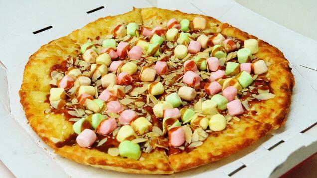 Pizza Au Caramel Et Marshmallow La Nouvelle Folie