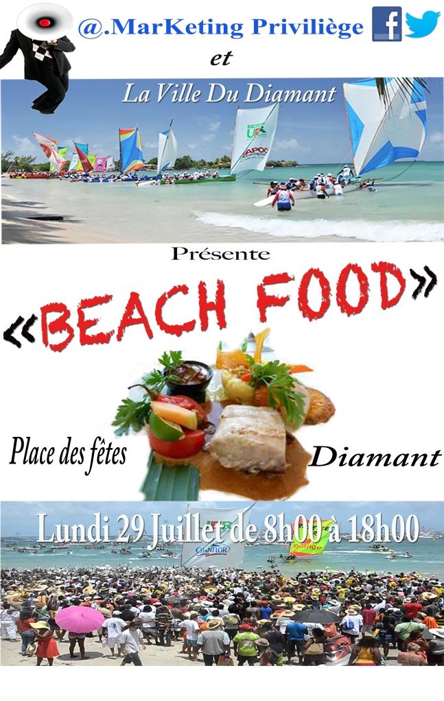 Affiche Beach Food