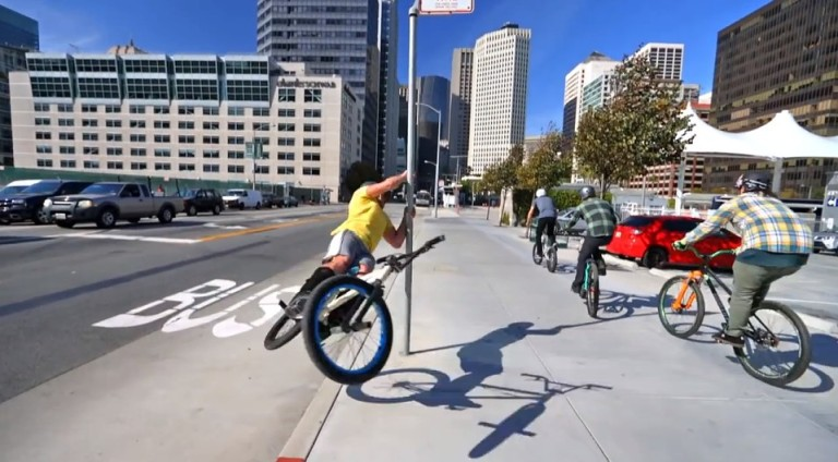 Bike Parkour - San Francisco